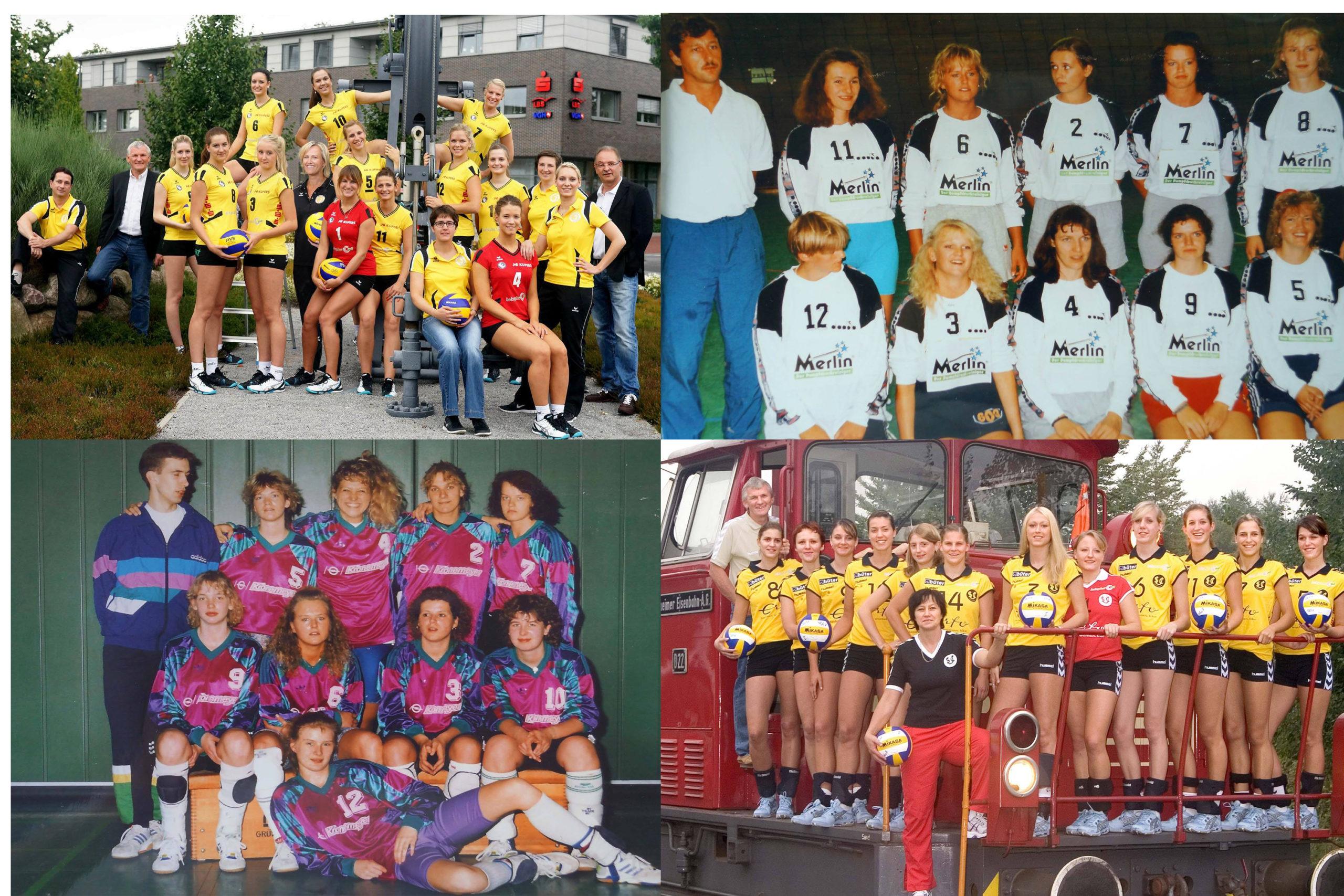 Online-Wahl: SCU-ALLSTAR-Team – 30 Jahre Bundesliga-Volleyball