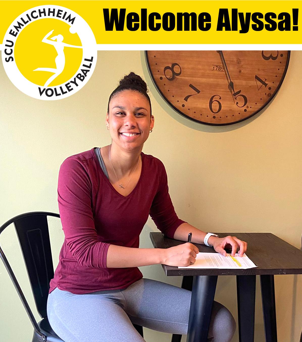 US-Amerikanerin Alyssa Andreno verstärkt den SCU
